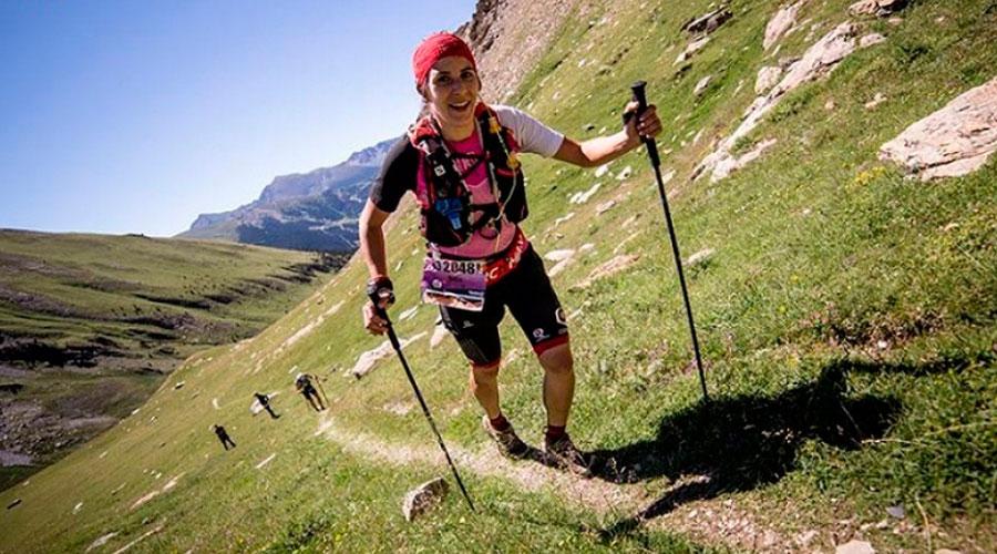 Participant de l'Andorra Ultra Trail