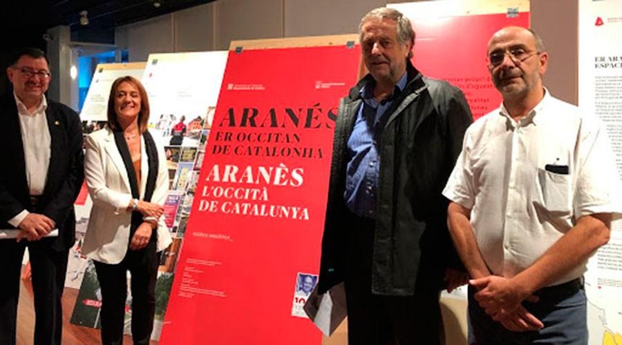 exposició sobre l'aranès