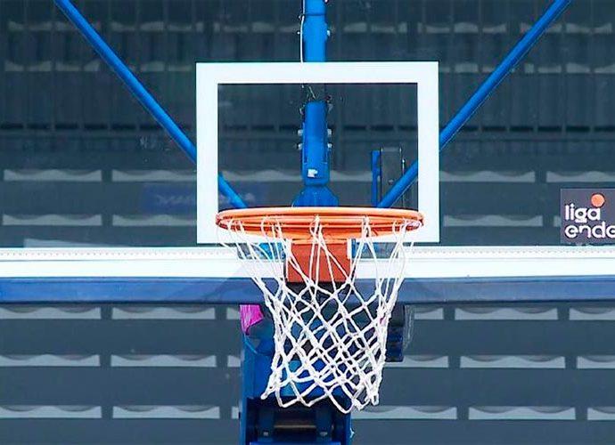 Una cistella de bàsquet