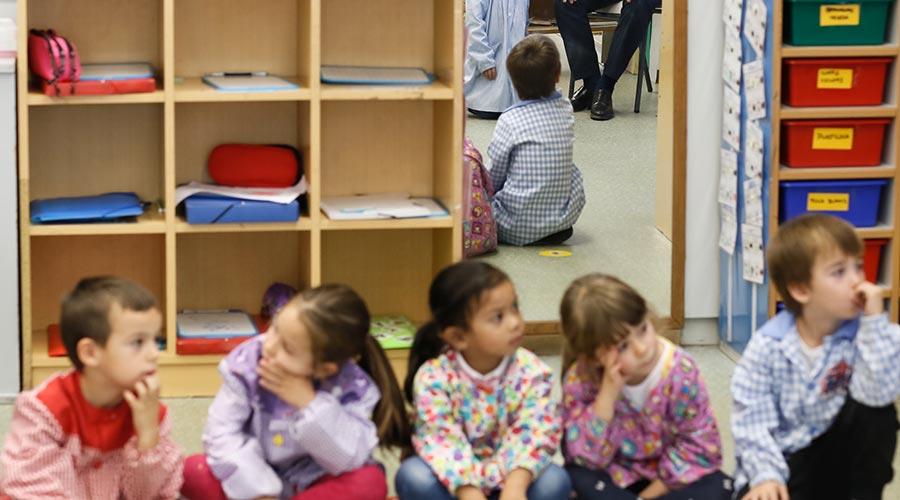 Alumnes en una escola
