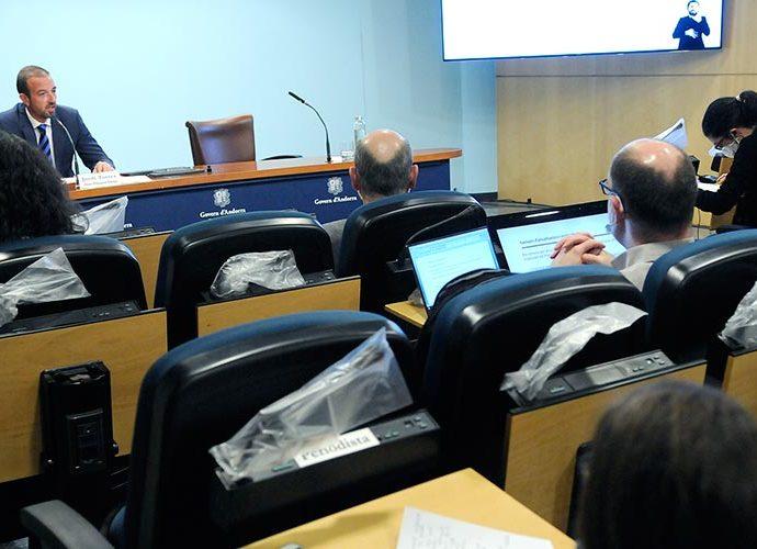 El ministre d'Ordenament Territorial,Jordi Torres