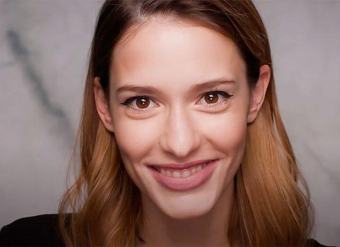 model de maquillatge