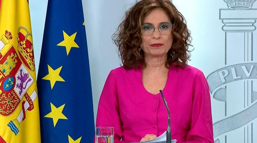La ministra d'Hisenda espanyola, María Jesús Montero