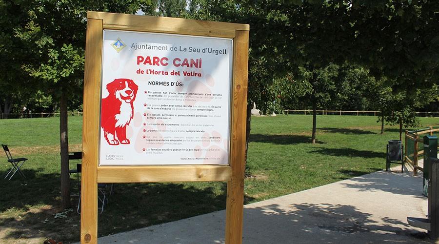 Parc caní de la Seu d'Urgell