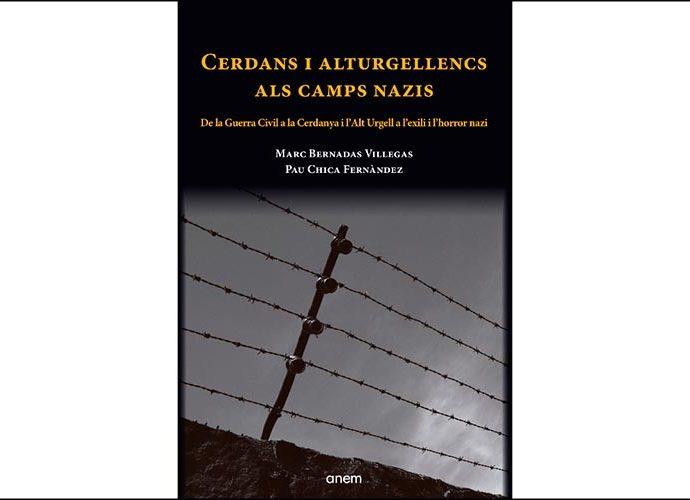 La portada del llibre Cerdans i alturgellencs als camps nazis