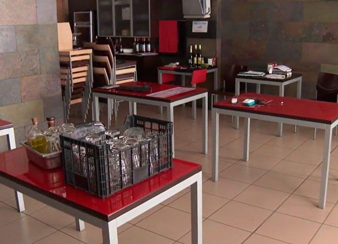 Un bar restaurant d'Andorra la Vella