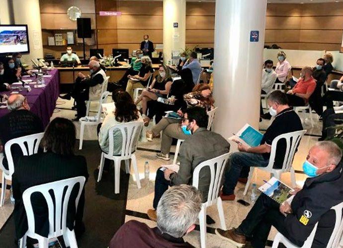 Reunió del Comú d'Encamp amb representants del teixit empresarial de la parròquia