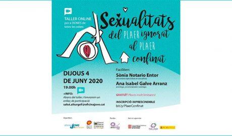 cartell del taller de sexualitat organitzat per l'Oficina Jove de l'Alt Urgell i el Servei d'informació i d'Atenció a la Dona