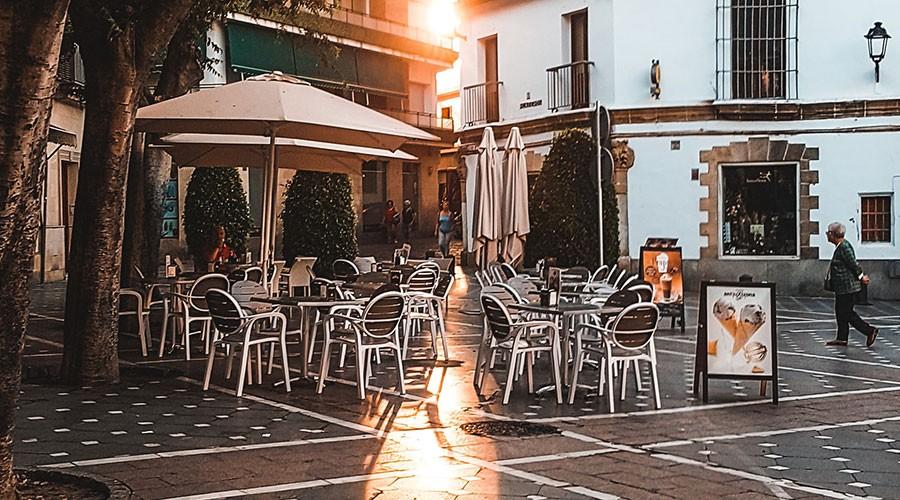 terrassa d'un bar