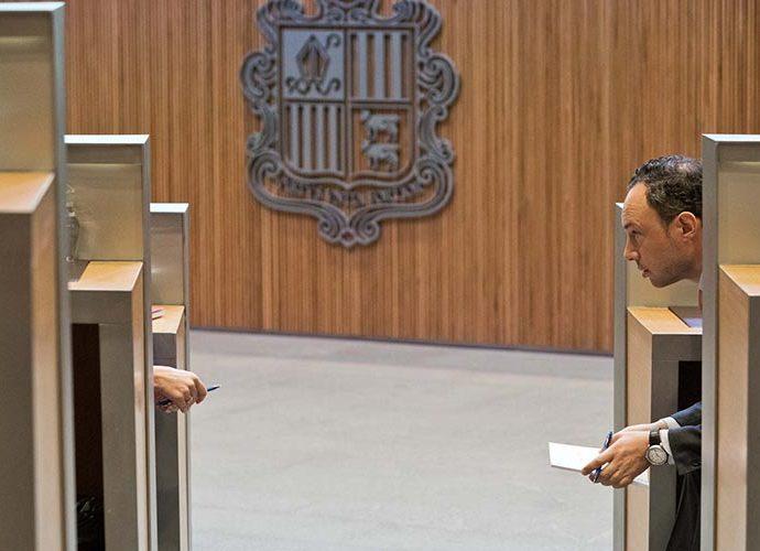 Xavier Espot al Consell General