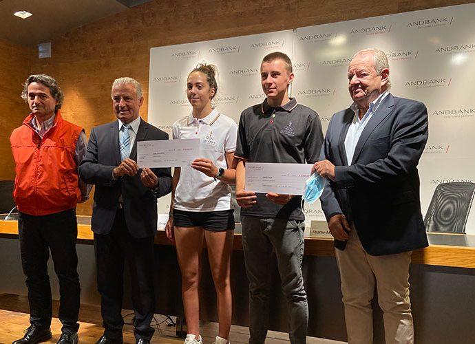 Andbank i el COA premien a Carla Mijares i Oriol Olm