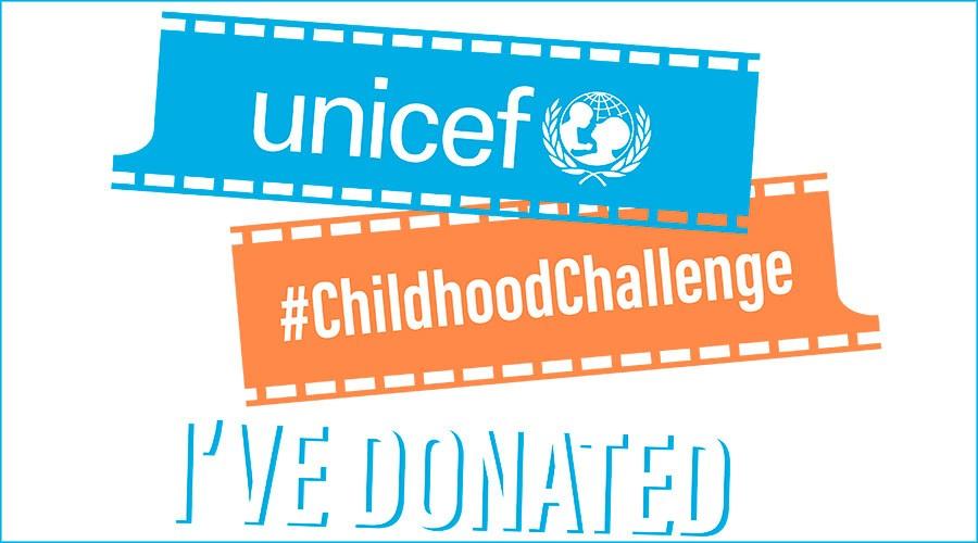 Logotip de #ChildhoodChallenge