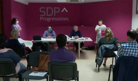 Una assemblea de Progressistes SDP