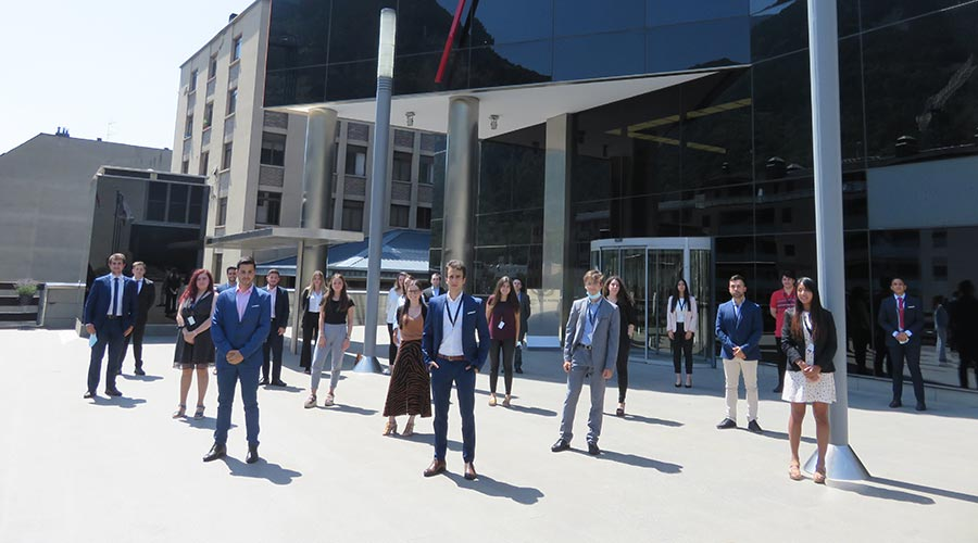 Joves participants de l'Andbank Trainee Program