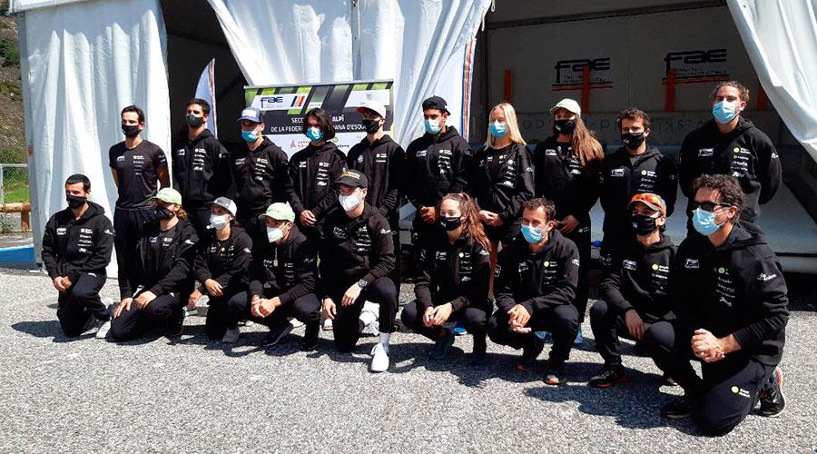 Presentació de l'equip nacional d'esquí