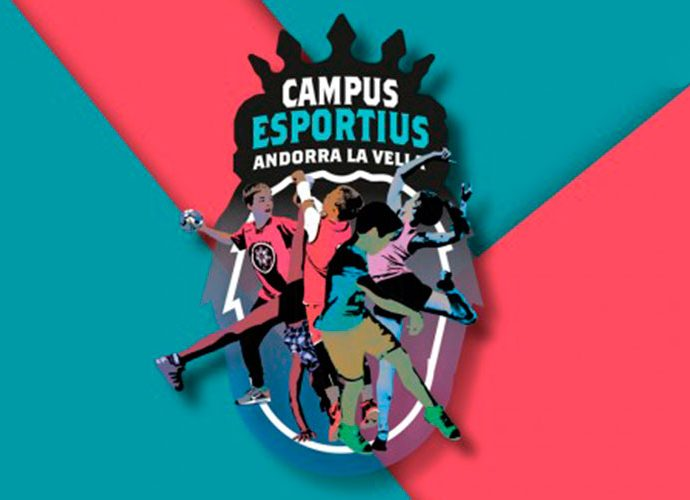 Emblema dels Campus esportius d'Andorra la Vella