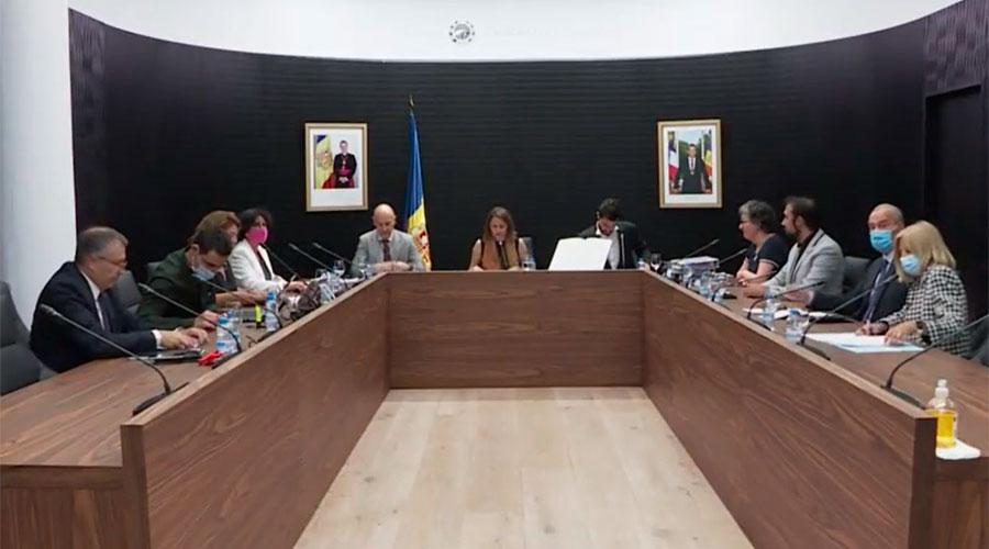 Sessió de consell de Comú d'Escaldes-Engordany