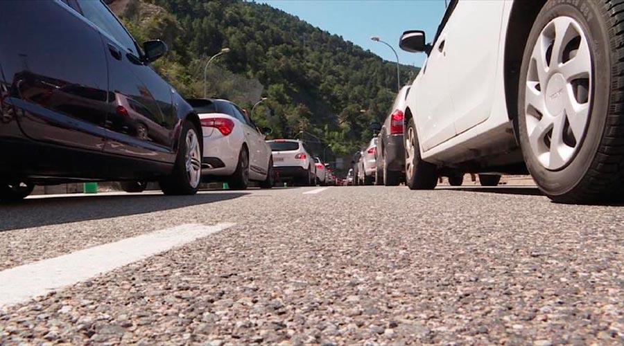 Vehicles sortint d'Andorra