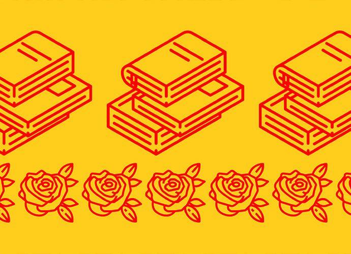 cartell del dia del llibre i de la rosa