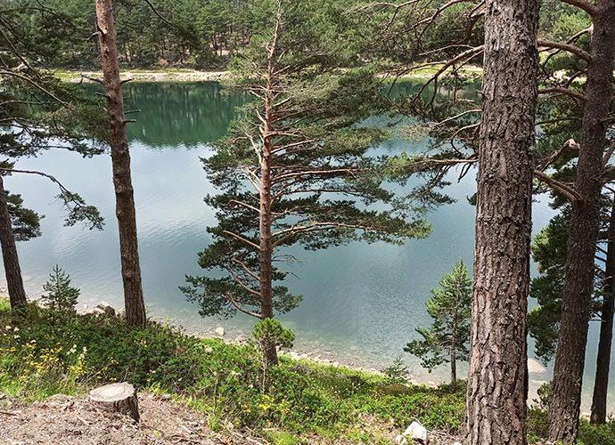 El llac d'Engolasters