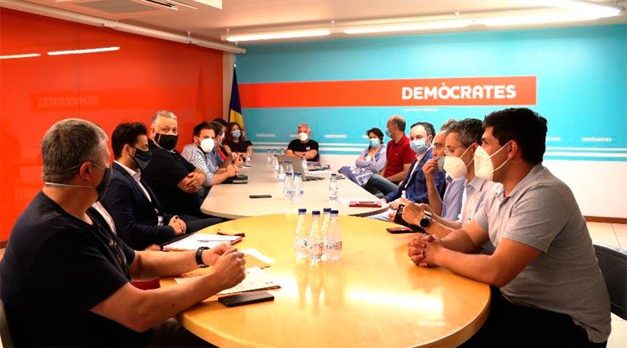 Reunió de l'Executiva de Demòcrates