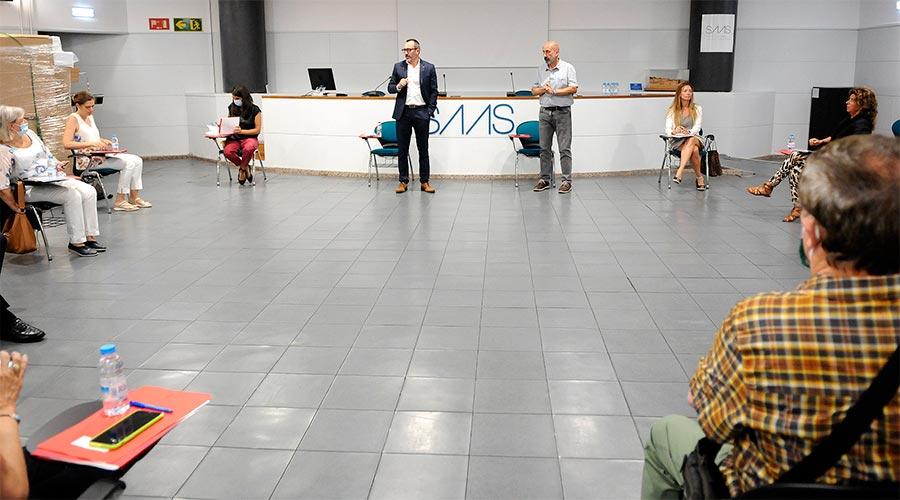 Filloy i Martínez Benazet a la primera reunió de la Comissió de Seguiment Sociosanitari