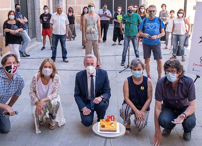 Organitzadors del Festival Internacional de Teatre Amateur de Girona