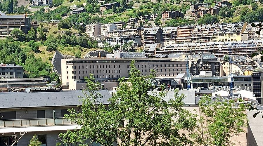 l'Hospital Nostra Senyora de Meritxell