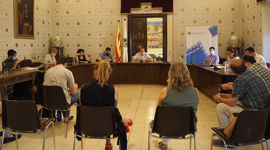 Ple de l'ajuntament de la Seu d'Urgell