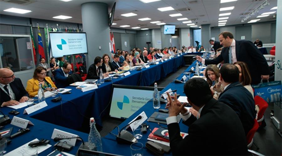 Una reunió prèvia de Coordinadors Nacionals i de Responsables de Cooperació iberoamericans