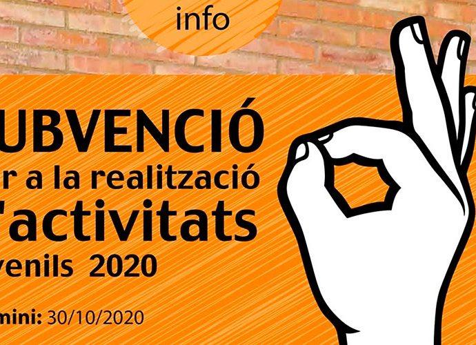 Subvencions per a activitats juvenils