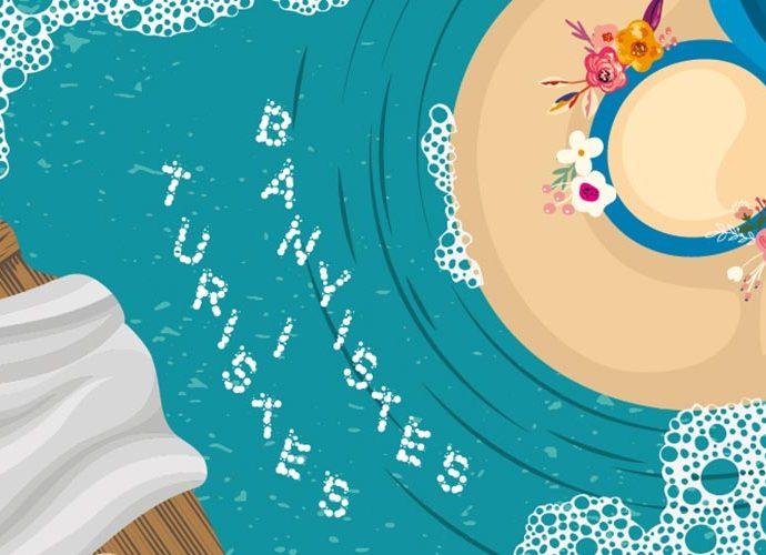 Cartell de 'Turistes i Banyistes'