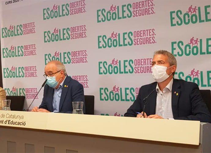 El conseller d'Educació, Josep Bargalló