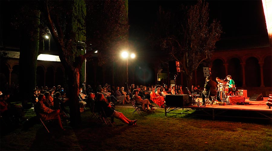 Concert d'Arnau Obiols Trio a la Seu d'Urgell
