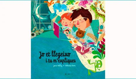 """portada del llibre """"Jo et llegeixo i tu m'expliques"""""""