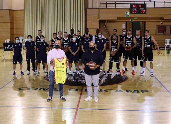 El Bàsquet Club Andorra de pretemporada al Pas de la Casa