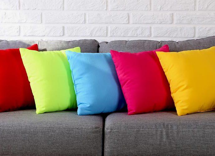 Coixins de colors