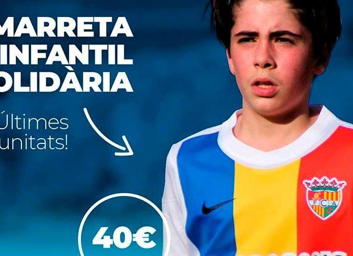 Samarreta del FC Andorra