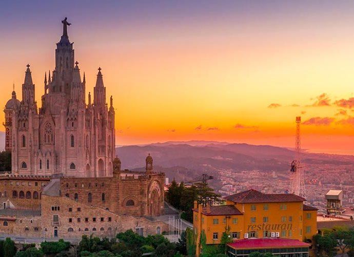 Barcelona des del Tibidabo