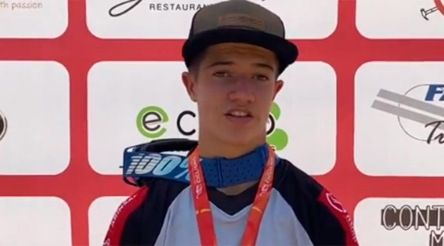 El ciclista Arnau Graslub