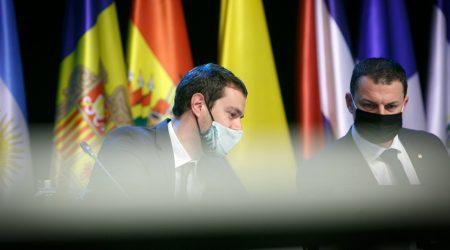 El ministre de Presidència, Economia i Empresa, Jordi Gallardo
