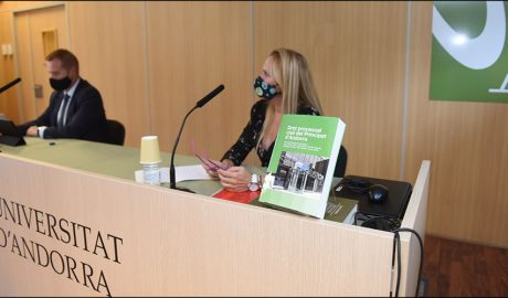 L'UdA va presentar el setè llibre de la col·lecció Campus: 'Dret processal civil del Principat d'Andorra'.