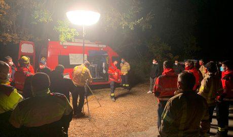 Dispositiu dels Bombers de la Generalitat per la recerca del boletaire desaparegut