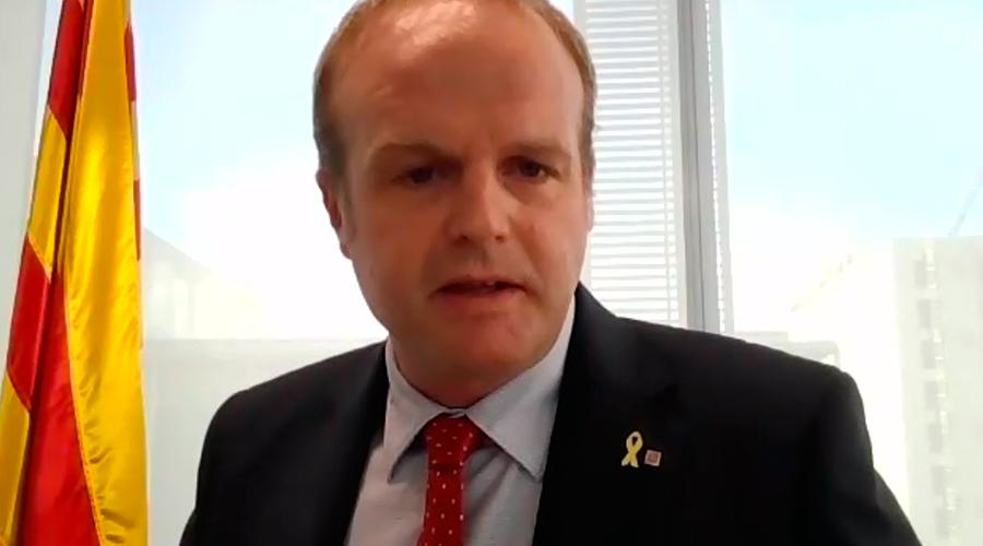 secretari general de la Vicepresidència i d'Economia i Hisenda, Albert Castellanos