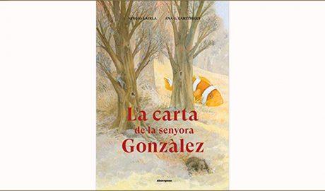 """Portada del llibre """"La carta de la senyora González"""""""