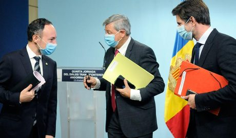 El cap de Govern, Xavier Espot, a rebut al Principat d'Andorra una delegació encapçalada pel prefecte de la regió d'Occitània, Etienne Guyot, i per John Palacin, conseller regional i representant de la presidenta de la regió d'Occitània / Pirineus-Mediterrània, Carole Delga