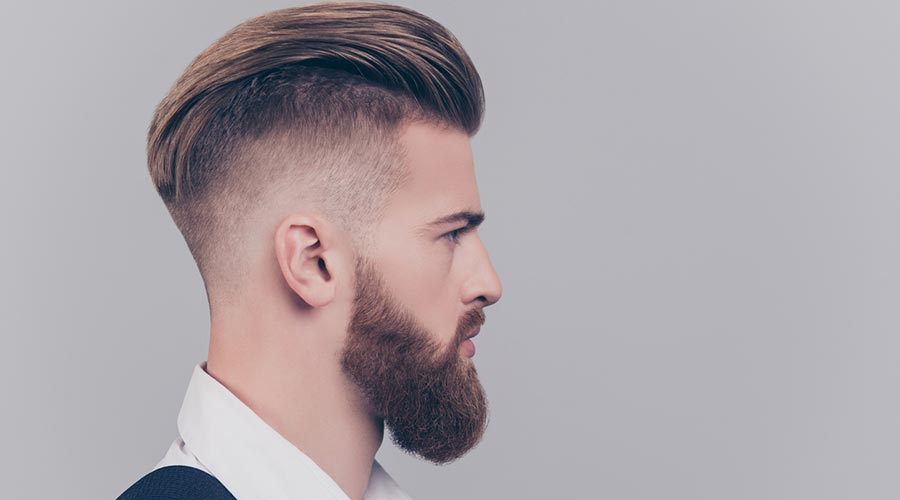 Home amb barba