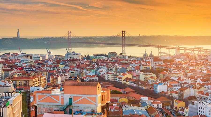 Vista general de Lisboa