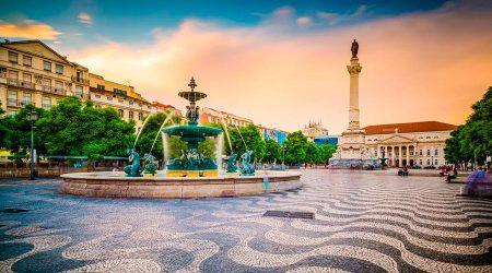 Plaça del Rossio, Lisboa