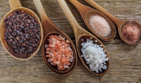 Diferents tipus de sal